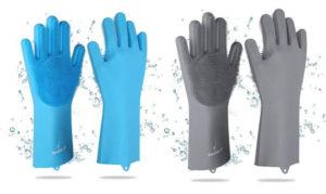 SPARKJOY Reusable Silicone DishwashingGloves
