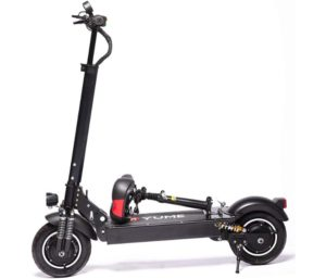 YUME D4+ Foldable Electric Scooter with Seat