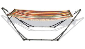 BAN MAI Best Folding Hammock Large Metal Frame, Canvas Hammock net
