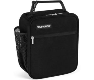 MAZFORCE Original Lunch Bag Insulated Lunch Box Spacious, Designed in California