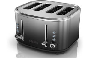 BLACK+DECKER 4-Slice Extra-Wide Slot Toaster
