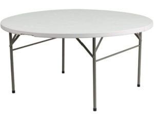 Flash Furniture Bi-Fold Plastic FoldingTable