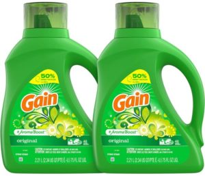 Gain Best Smelling Laundry Detergent Liquid Original Scent