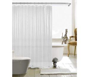 HARBOREST Best Shower Curtain Liner Waterproof 3-Gauge Lightweight