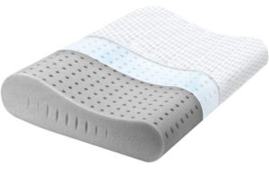 Milemont Memory Foam Pillow for Back, Stomach, Side Sleepers