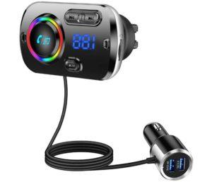 Tecboss FM Best Bluetooth Transmitter for Car