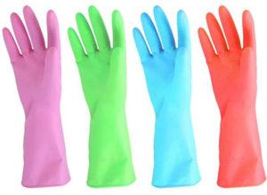 URBANSEASONS Dishwashing Rubber Gloves