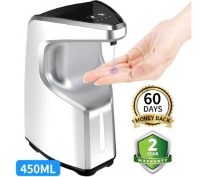 AFMAT Hand Sanitizer Contactless Liquid Soap Dispenser