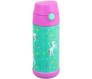 Snug Flask for Kids - Vacuum Insulated Best Water Bottle For Kids with Straw