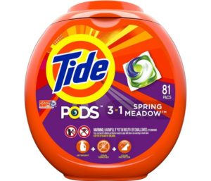 Tide Pods Spring Meadow Scent