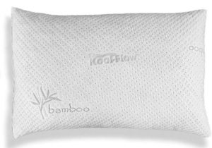 Xtreme Comforts Hypoallergenic Kool-Flow Micro Vented Bamboo Shredded Memory Foam