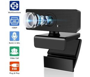 Best HD Wireless Webcam with 110° Wide View Angle