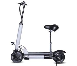 JUE SHUAI Two Wheels Electric Scooter with Seat