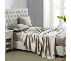 Lanest Housing Silk Satin Best Silk Bed Sheets