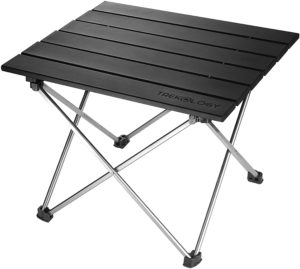 Small Best Folding Camping Table Foldable Picnic Mini Aluminum Side Table