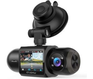 Uber Dual 1080P FHD WiFi Dash Cam, Front and Inside Recorder