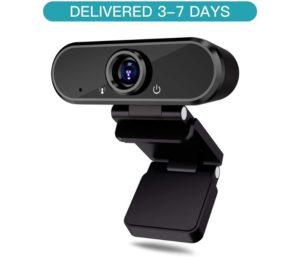 HD Webcam with Microphone, PC Laptop Desktop USB Webcams