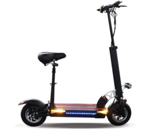 JUE SHUAI Black Best Electric Scooter with Seat
