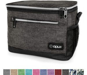 OPUX Premium Best Lunch Boxes For Men, Insulated Lunch Bag Fits 8 Cans