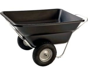Smart cart Garden and Barn Cart 2 Wheel Wheelbarrow