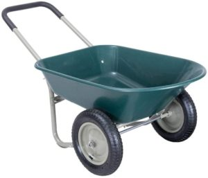 AYAM 2-tire Garden Cart One of the Best 2 Wheel Wheelbarrows