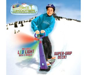 Geospace Original LED Ski Skooter Best Snow Scooter