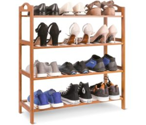 Homfa Bamboo Shoe Rack