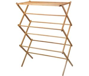 Bamboo Clothes Drying Rack by Home-it
