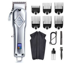Limural Hair Clippers Professional Clippers for Hair Barbers Rechargeable Best Cordless Hair Clippers