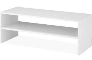 Whitmor Stackable Wooden Shoe Rack