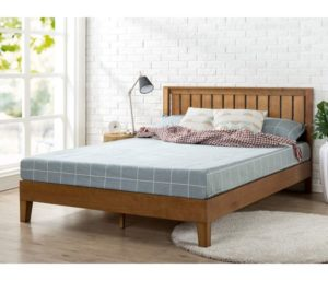 Zinus Alexis 12-Inch Deluxe Wood Platform Bed