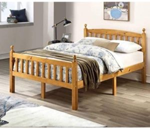 BETTER HOME PRODUCTS Pine Wooden Bed Frames