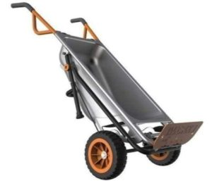 Grace Shop Multipurpose 2 Wheel Wheelbarrow