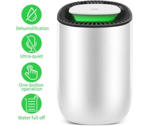 Honati Best Small Dehumidifier for Bedroom Baby Room and Versatile