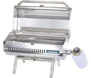 Magma Products Best Small Gas Grill Propane LPG, Stainless Steel