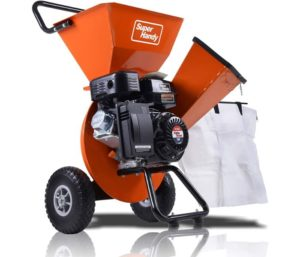 SuperHandy Wood Chipper Leaf Shredder
