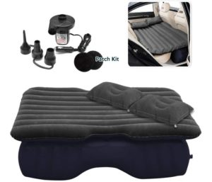 Zone Tech Inflatable Car Travel Air Mattress Back Seat