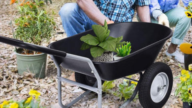 Photo of Top 10 Best 2 wheel wheelbarrow Reviews in 2020