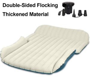 WEY&FLY SUV Car Air Mattress Thickened and Double Sided Flocking