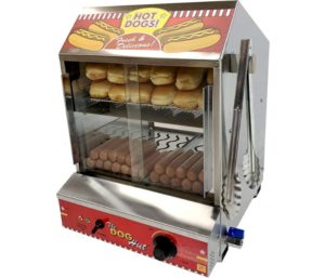 Hot Dog Cooker by Paragon for Professional Concessionaires Commercial Quality