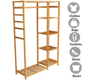 Lehom Bamboo Clothes Drying Rack