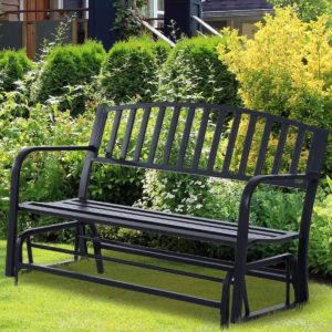 Outdoor Glider Garden Bench