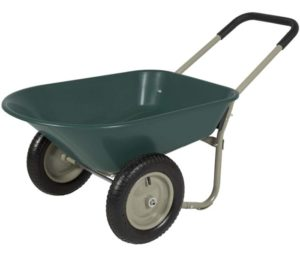 Precioso Rolling Mobile 2 Tire Wheelbarrow, 2 Wheel Wheelbarrow