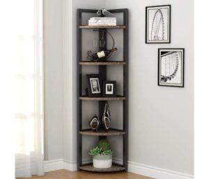 Tribesigns 5 Tier Corner Bookshelves