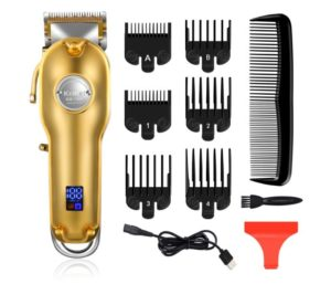 Kemei Professional Hair Clippers Hair Trimmer for Stylists and Barbers