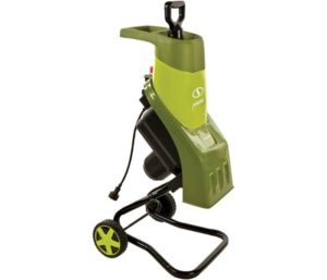Leaf Shredder Electric Wood Chipper by Snow Joe
