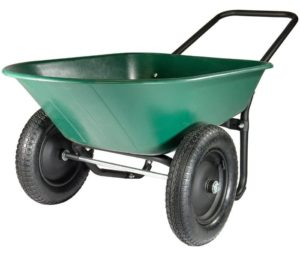 Garden Star 2 Tire Wheelbarrow