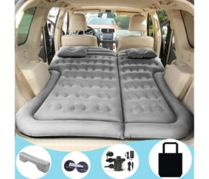 SAYGOGO SUV Car Air Mattress Camping Bed Cushion Pillow