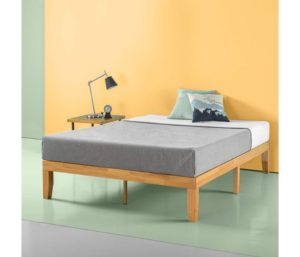 Zinus Moiz 14-Inch Wood Platform Bed