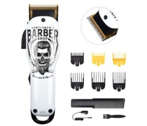 BESTBOMG Updated Hair Clippers Cordless Haircut Kit Rechargeable 2000mAh